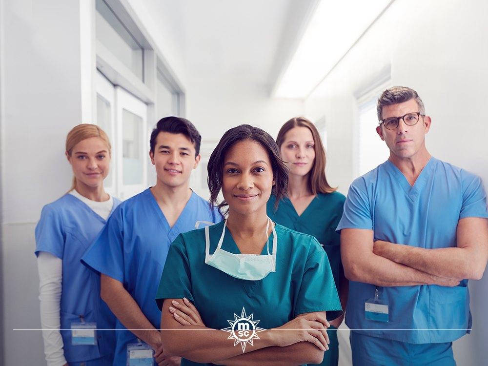 MSC CROCIERE: Diciamo grazie agli operatori sanitari
